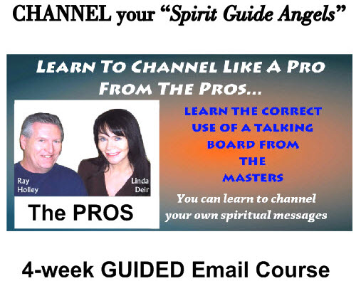 4-Week Guided Email Course - Learn to Channel your Spirit Guide Angels, by Channeled Readings, LLC