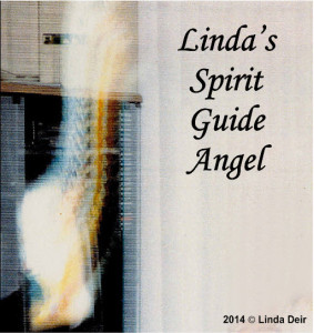 Photograph Linda Deir took of her spirit guide angel in 1994