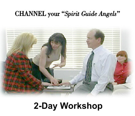 Level 1 BEGINNER, 2-Day Workshop - Channel your Spirit Guide Angels, by Channeled Readings, LLC