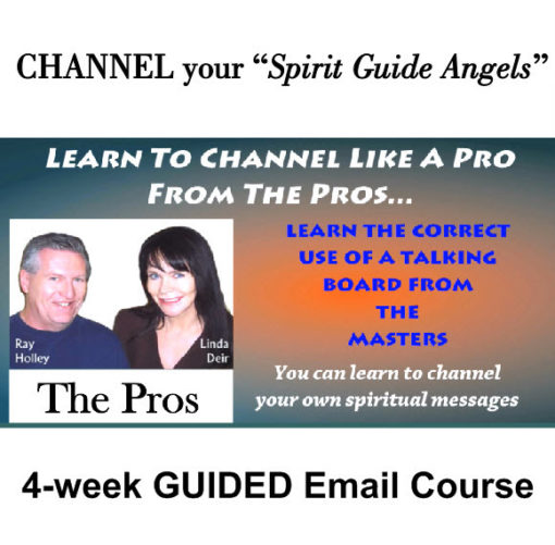 4-Week Guided Email Course, Channeled Readings, LLC