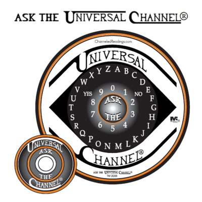 The Official - Ask The Universal Channel® talking board set