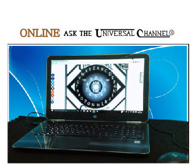 Online Ask The Universal Channel® talking board